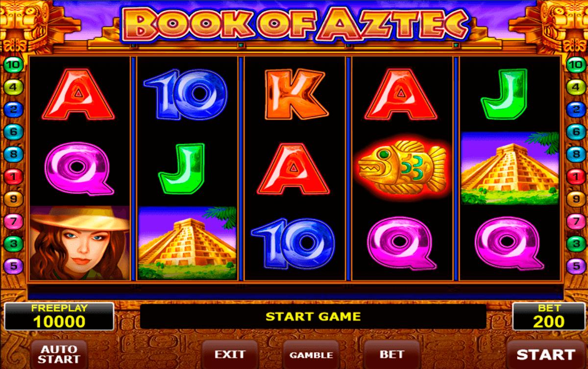 Игровой автомат «Book Of Aztec»